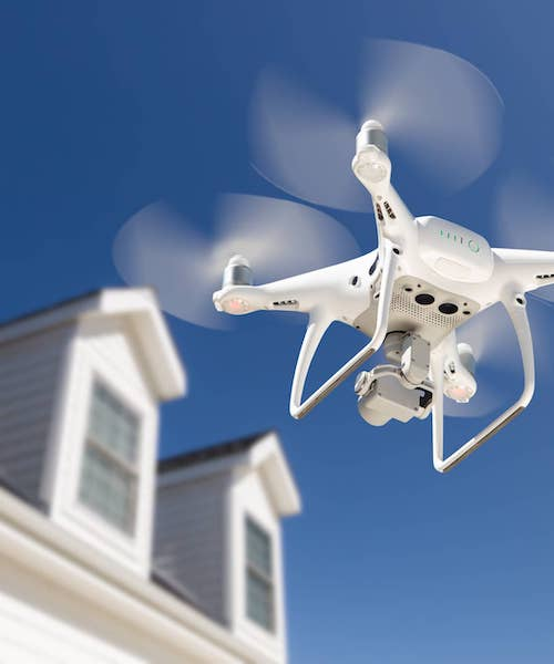 Aerial Drone Photography home inspection services
