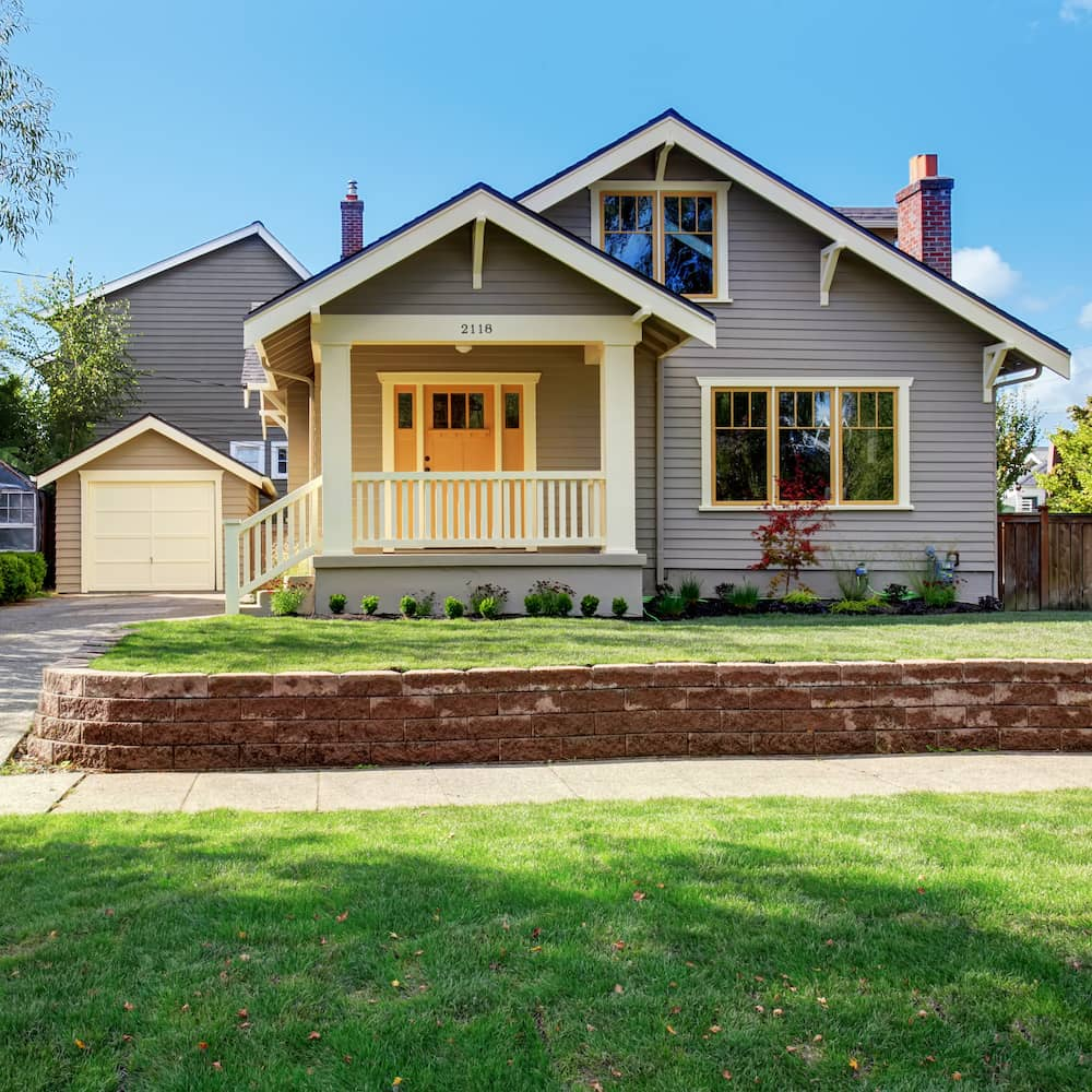 Home Inspector Craftsman style home